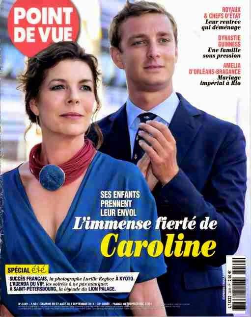 Caroline de Monaco -Amélia d'Orléans et Bragance