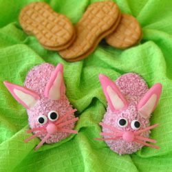 Bunny Slipper Cookies