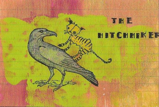 Whoopidooings: Carmen Wing: ICAD week 2 - The Hitchhiker