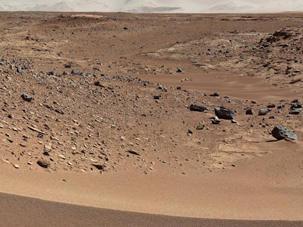 CURIOSITY MEETS THE DUNE