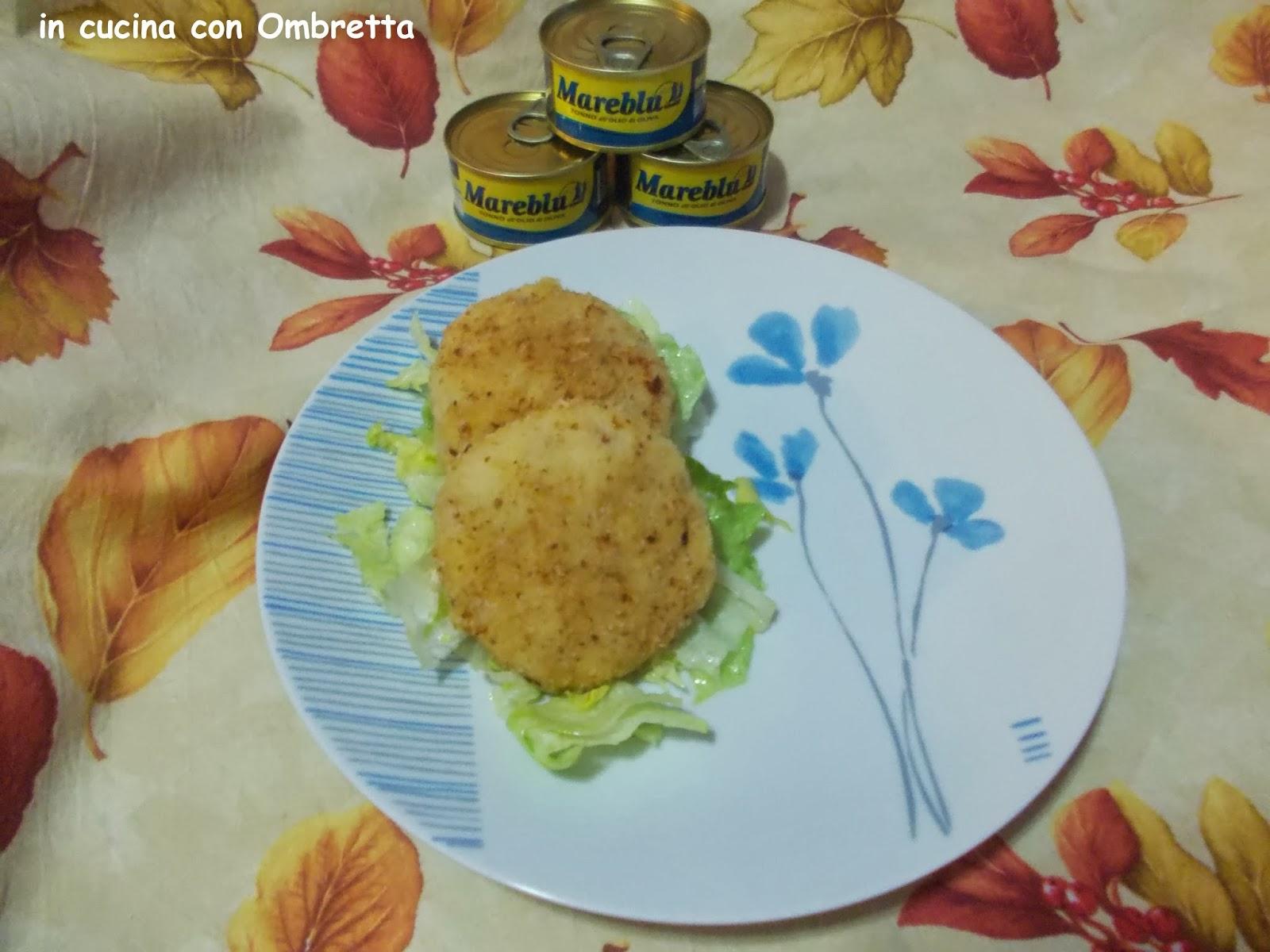 medaglioni di patata e tonno mareblu