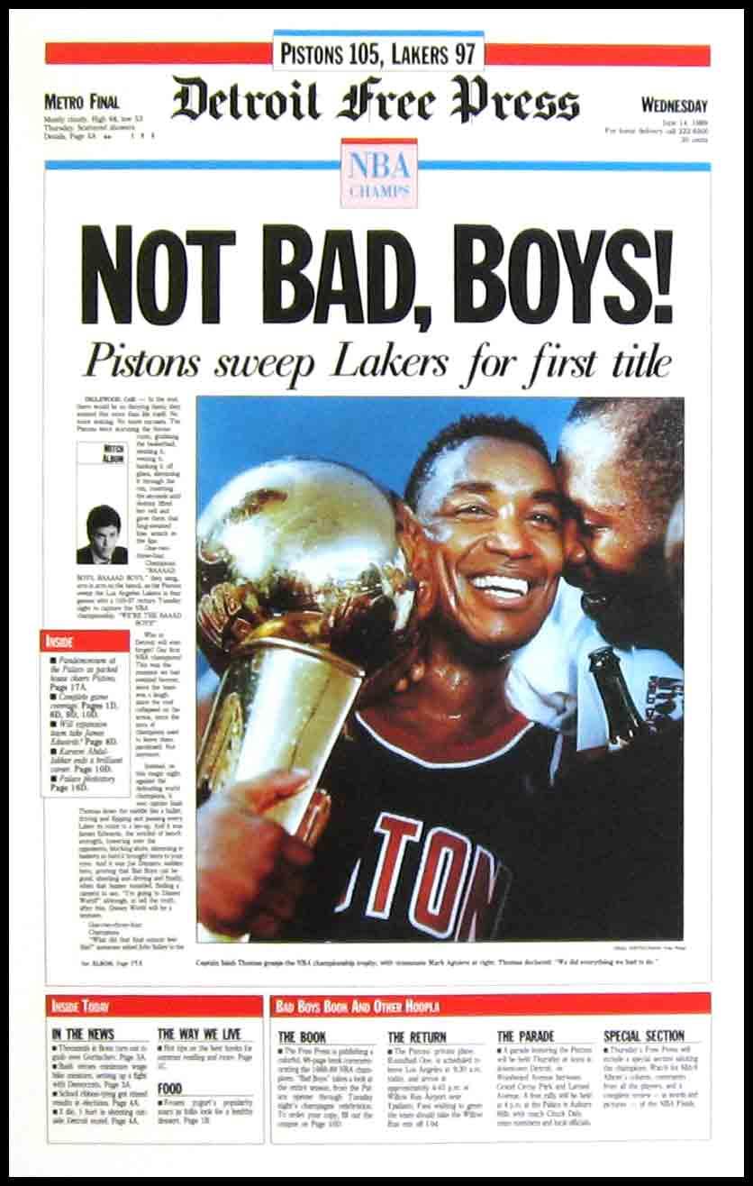 Nba Classic Games Nba Finals 1989 Pistons Lakers