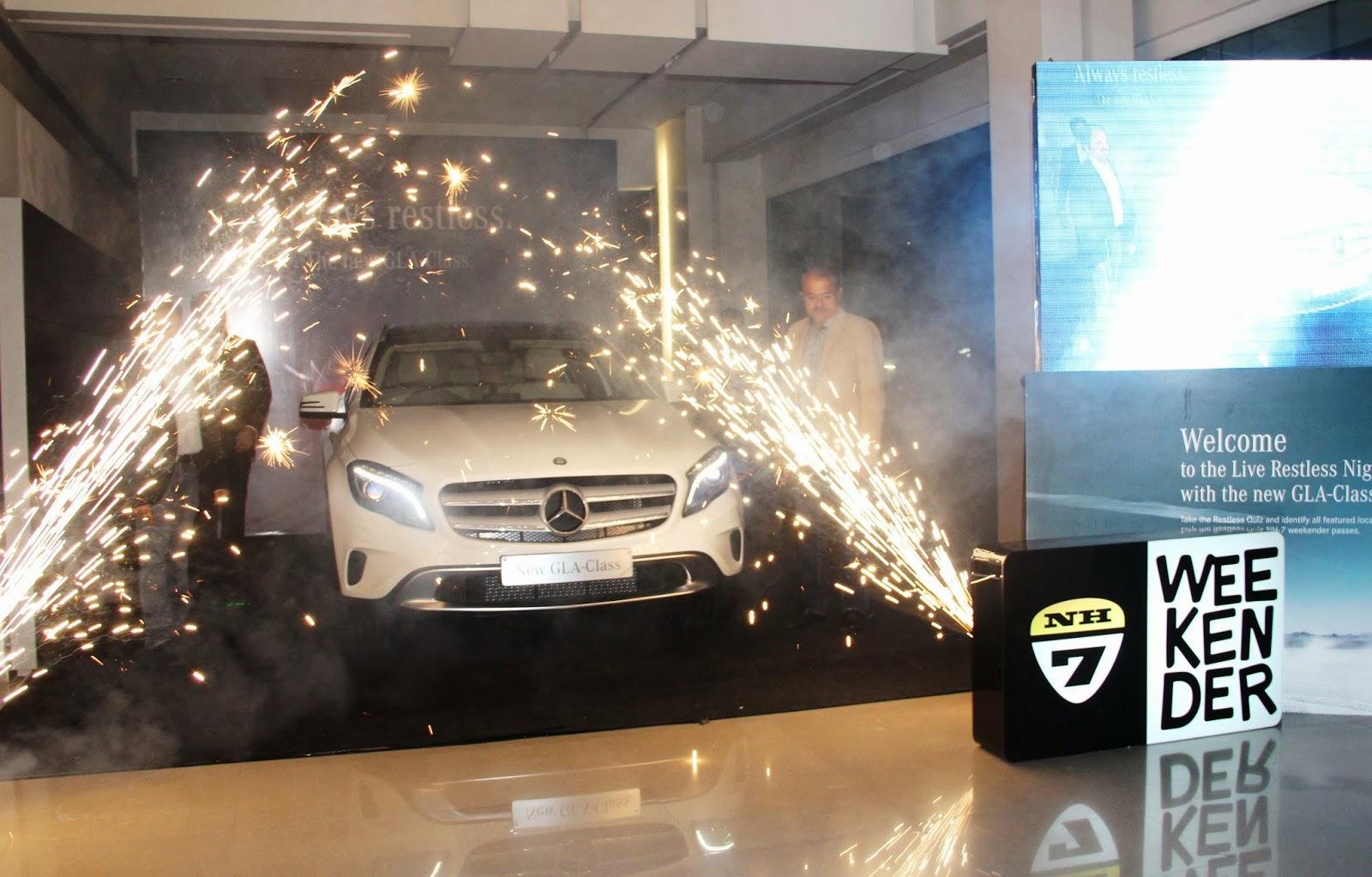 Mercedes-Benz GLA-Class Preview