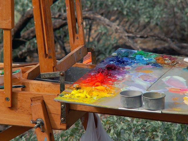 Oil paints by cobalt123