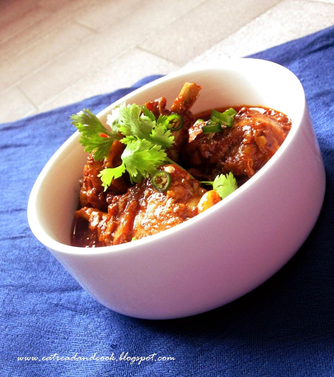 Chicken vindaloo eat read cook how to cook goan authentic chicken vindaloo forumfinder Images