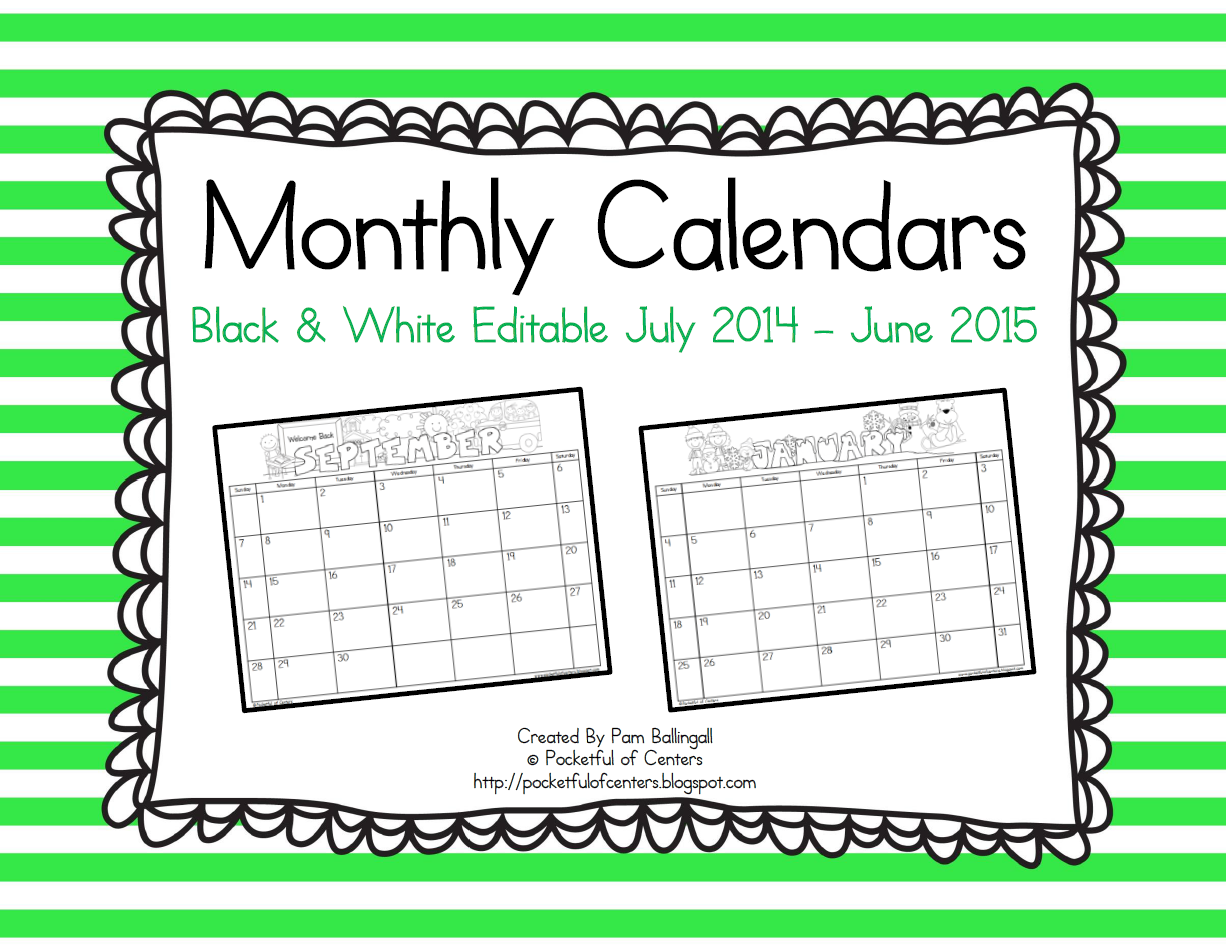 july 2016 calendar template editable .