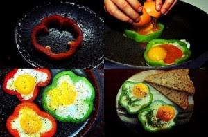 فكرة رائعة وجديدة لتقديم البيض سيحبها الكبار قبل الصغار