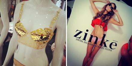 marlies dekkers, zinke, gold, swim, bikini