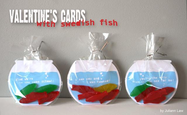 fish valentine - Valentine Ideas For Classmates