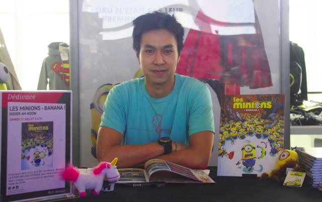 Didier Ah koon - storyboard artist