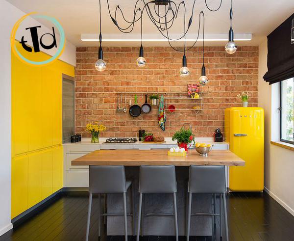 Beautiful Cucina Con Frigo Smeg Ideas - Ideas & Design 2017 ...