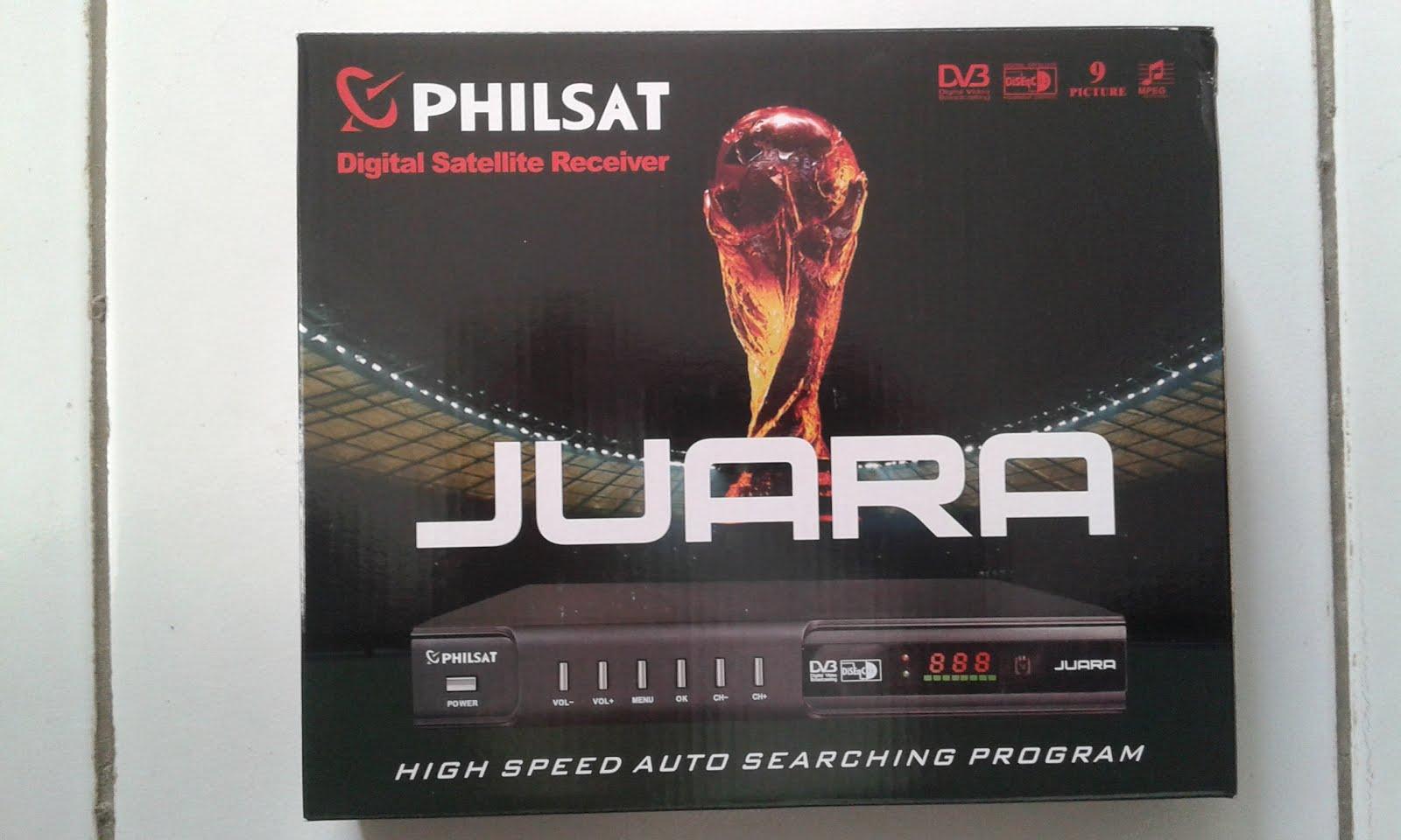 PHILSAT JUARA MPEG2