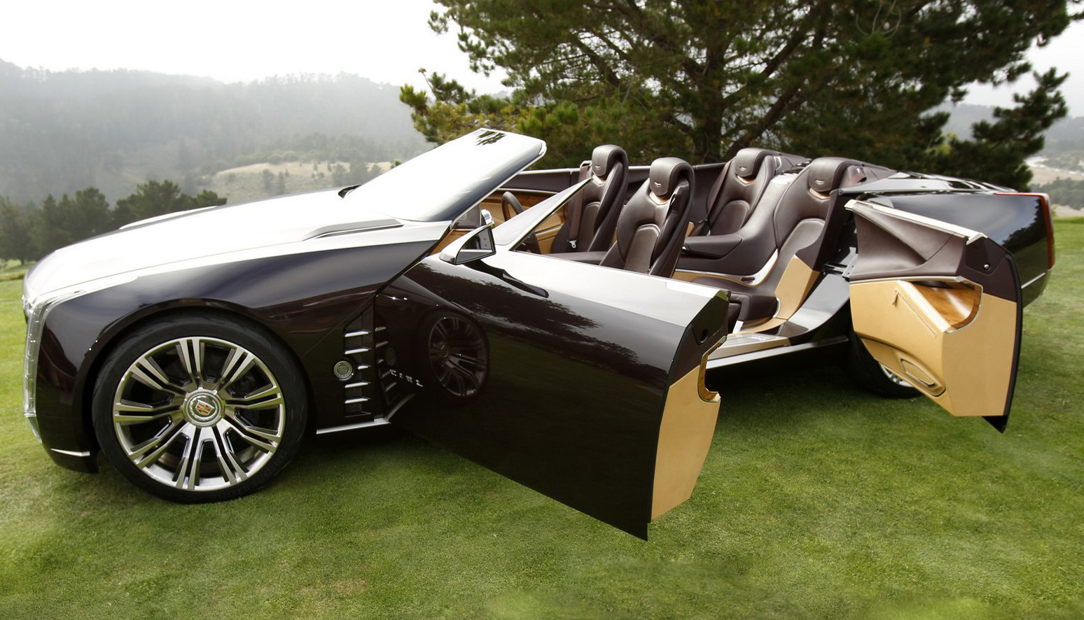 2011 cadillac ciel 4 door convertible car. Black Bedroom Furniture Sets. Home Design Ideas