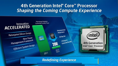 Mengenal Processor Intel Haswell 22 nm