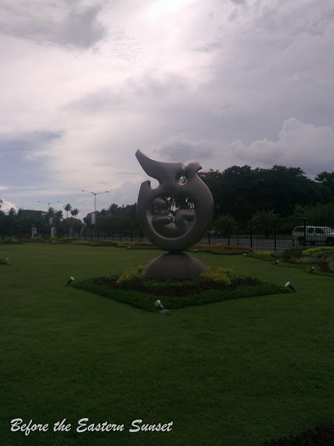 Sculpture of the unborn in PICC