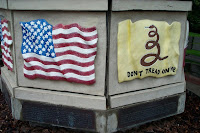 Stars and Stripes, and Rattlesnake Flags