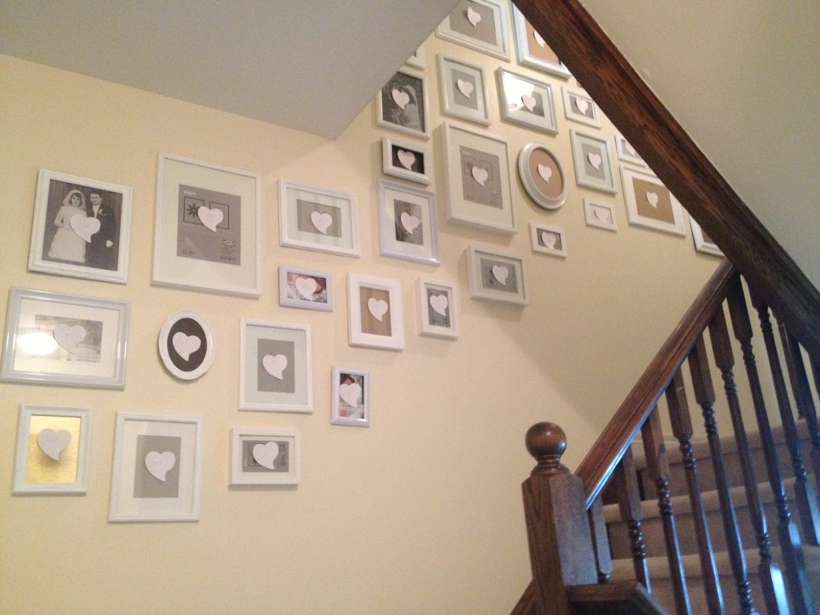 These Peach Roses: Frame Game: Phase 3 -- Matting