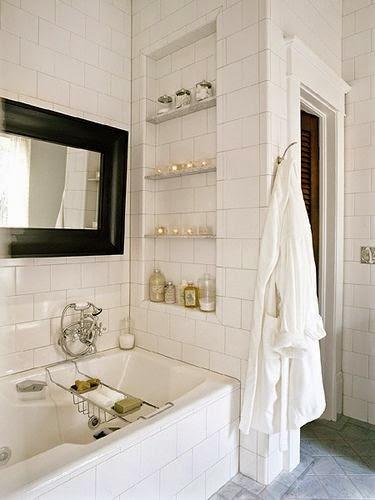 Cómo Decorar Un Baño Bonito: Decoración de Interiores: Ideas para decorar los baños blancos