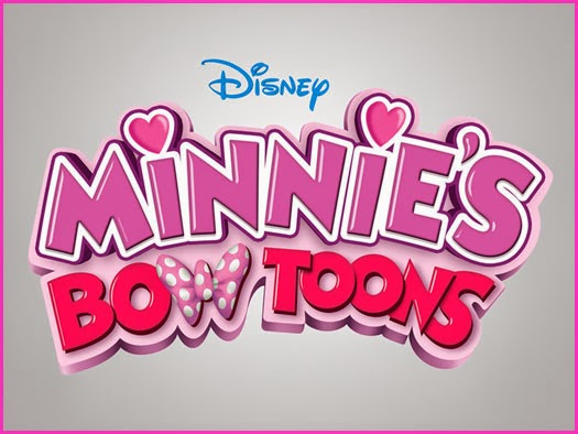 Minnie's bow toons logo