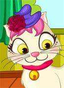 Кошка Анжела - Онлайн игра для девочек