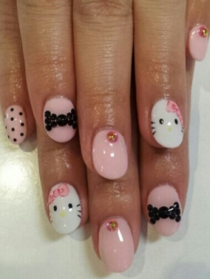 Lush Fab Glam Blogazine Style Me Pretty Whimsical And Cartoon Nail