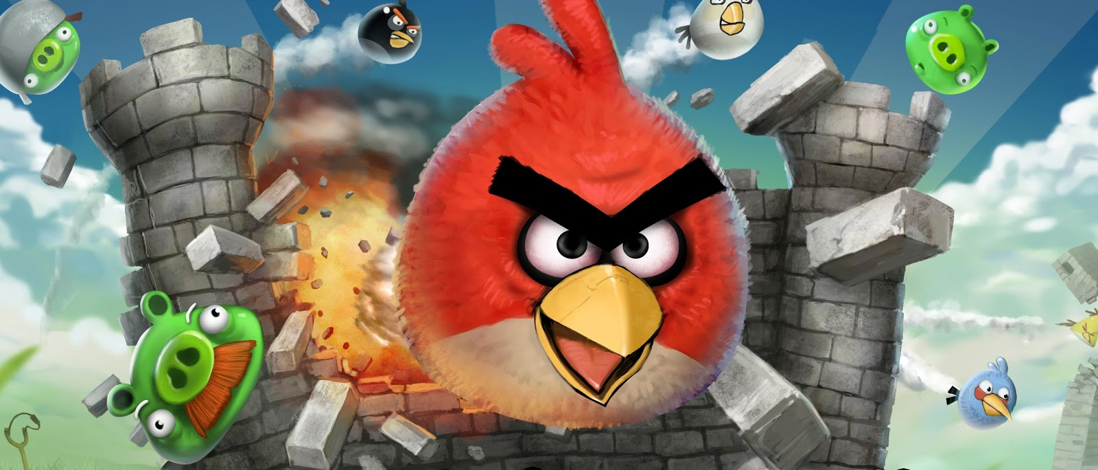 Angry birds Wallpapers HD   High Defination Wallpapers