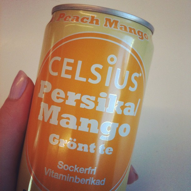 celsius energy drink peach and mango