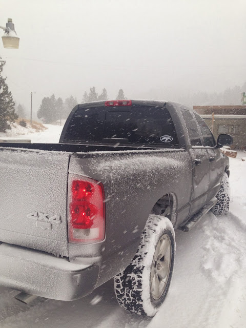 truck, dodge, snow, Montana, cold, adventures