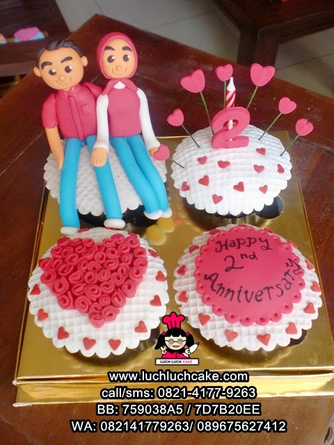 Cupcake Anniversary ke 2 Daerah Surabaya - Sidoarjo