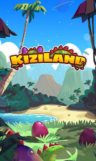 Screenshots of the Kiziland for Android tablet, phone.