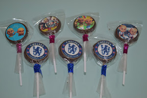 EDIBLE IMAGE LOLLIES