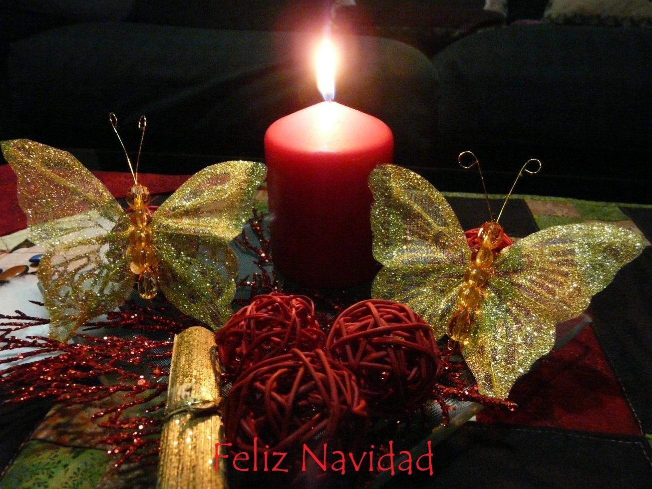 El mundo de las creaciones de iherba feliz navidad for Bandejas de navidad
