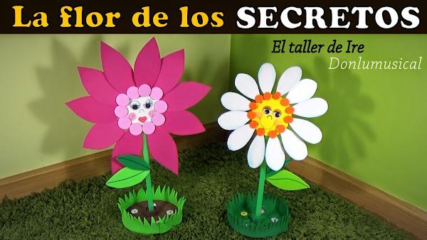 Videos como hacer flores de fomi - Imagui