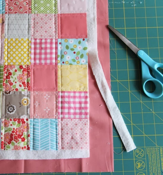 Binding a quilt with the quilt back | Cluck Cluck Sew : backing material for quilts - Adamdwight.com