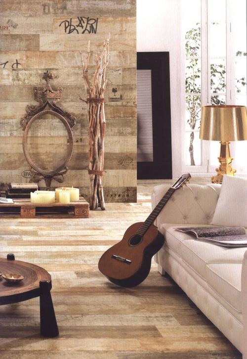 Cer micas para decorar suelos y paredes del hogar madera - Plaqueta imitacion madera ...