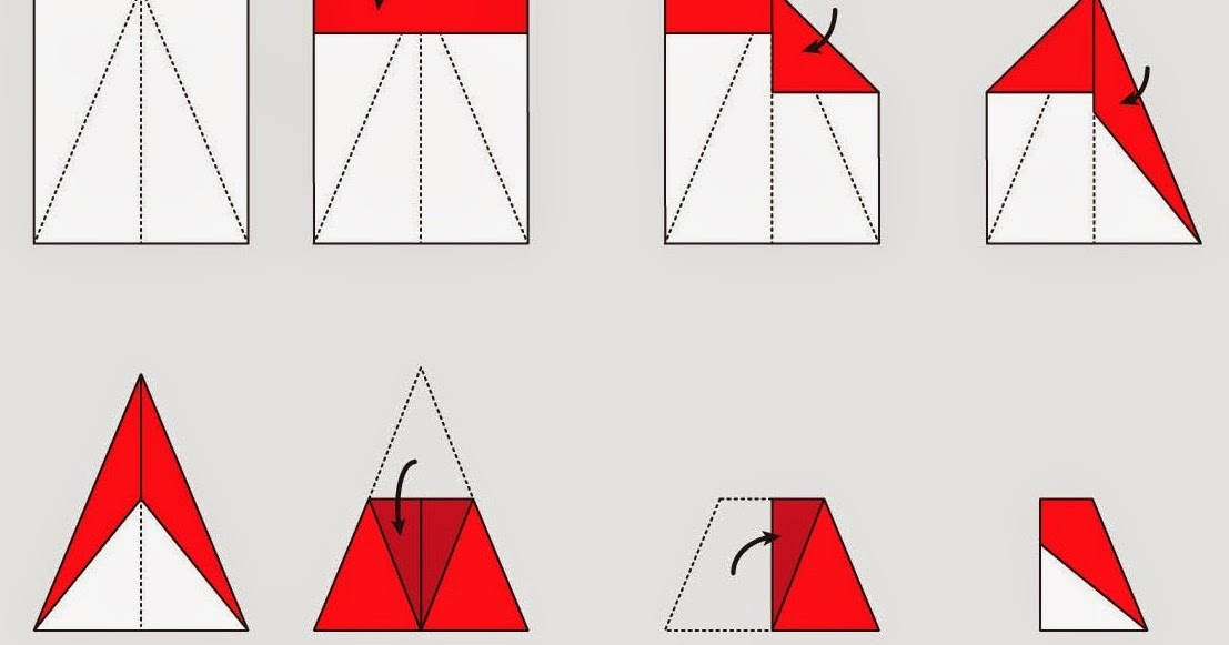 how to make origami planes step by step instructions