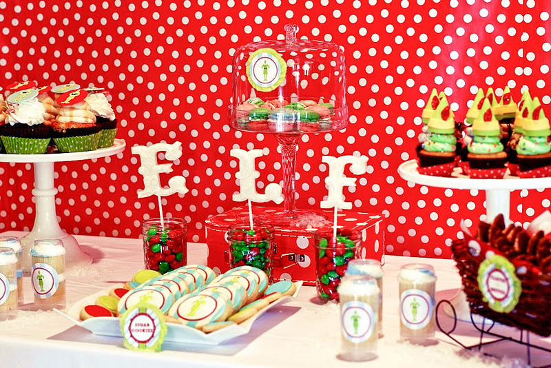 buddy the elf christmas party via karas party ideas karaspartyideascom - Christmas Party Decorations