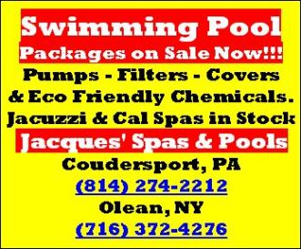 Jacques' Spas & Pools