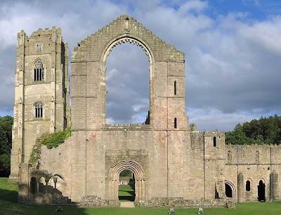 Ruínas da abadia de Fountains, Grã Bretanha