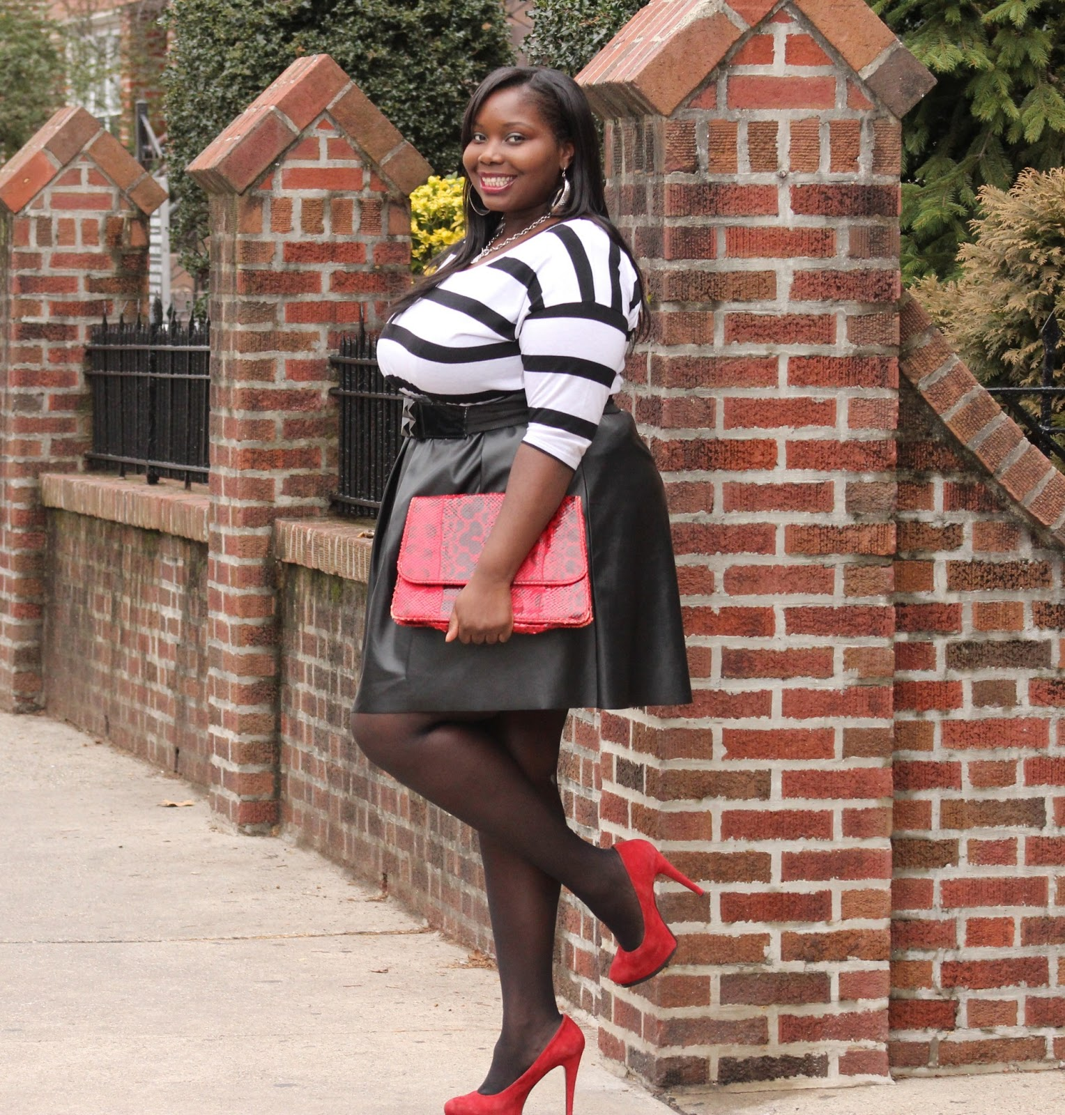 PLUS SIZE STYLE JOURNEY: A STRIPE OBSESSION