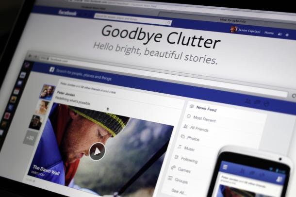 Tampilan Baru Di Facebook