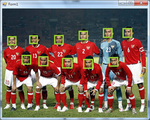 Sample Face Detection with VB net 2010