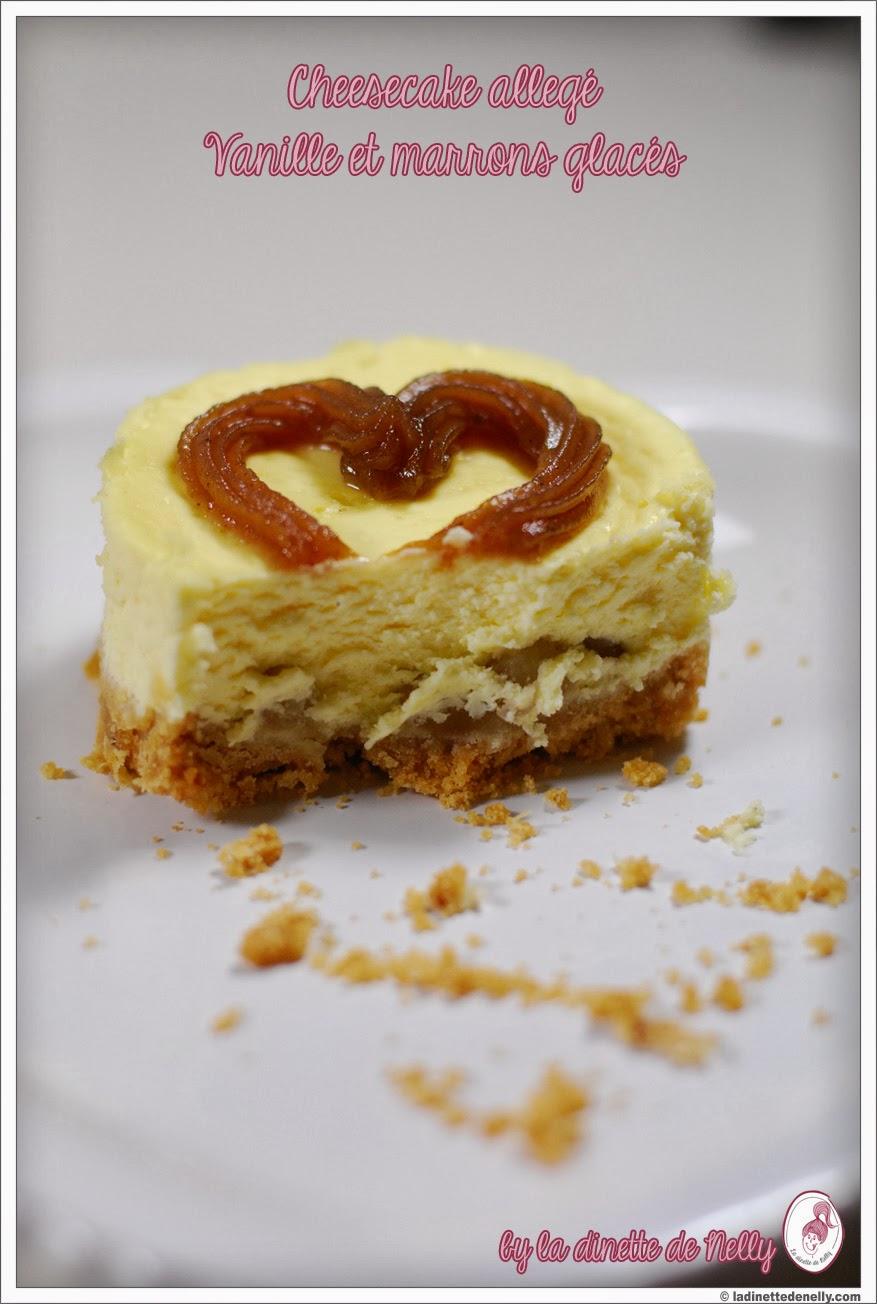 la dinette de nelly: cheesecake vanille et marrons glacés {