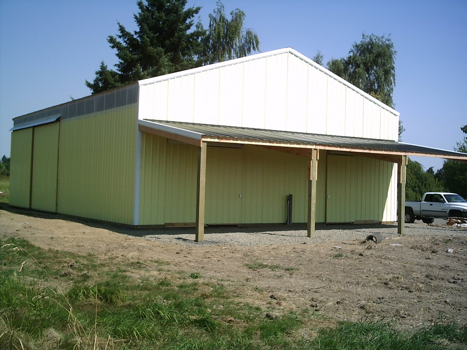 Econ o fab buildings oregon pole buildings featured for Barn builders oregon