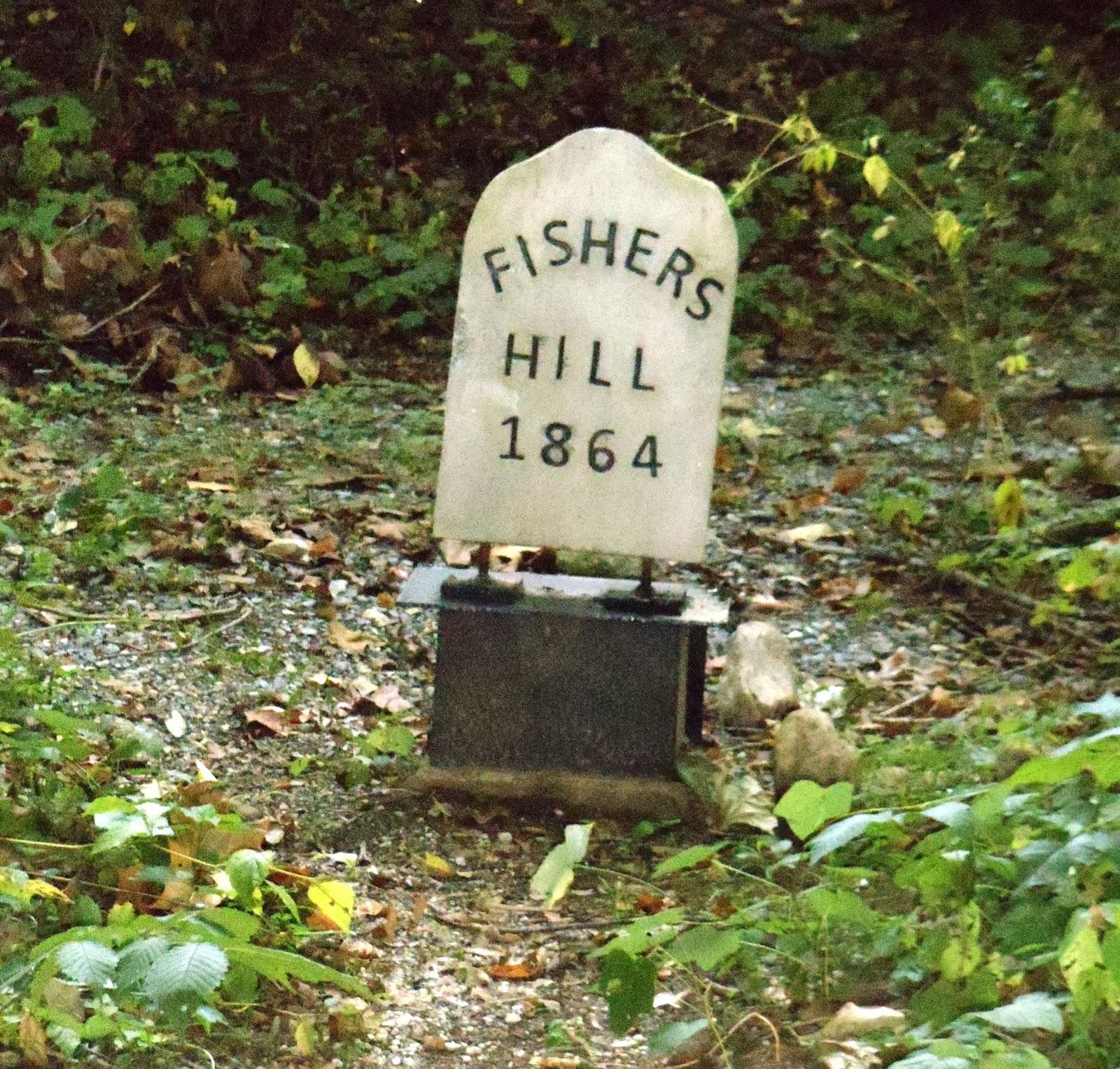 Fishers Hill Marker