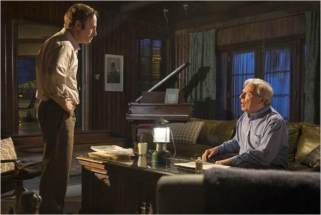 Bob Odenkirk y Michael McKean en Better Call Saul