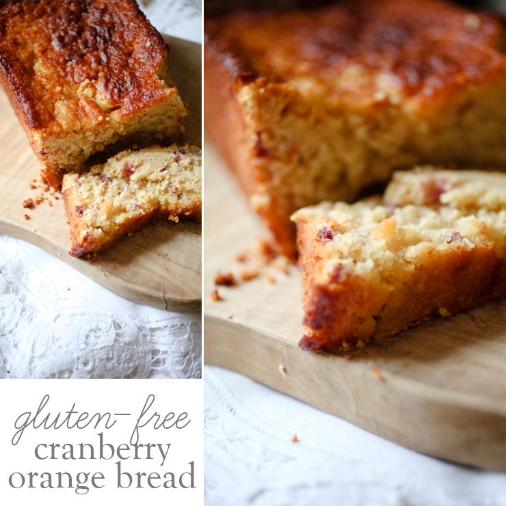 ELM STREET LIFE: Gluten-free cranberry orange bread.