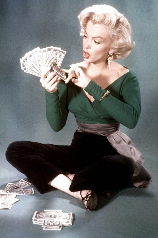 Morningstar Pinup: Marilyn Monroe Green & Purple Cummerbund Top