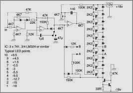 led audio vu level meter using transistors audio level indicator circuit diagram audio level meter (vu meter) circuit