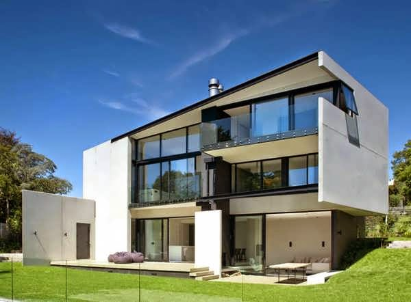 New Zealand Precast Concrete Walls House Design Injects